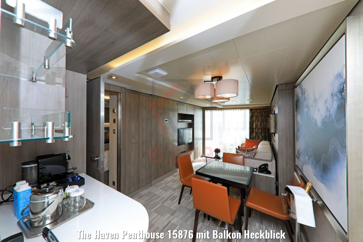 The Haven Penthouse 15876 mit Balkon Heckblick