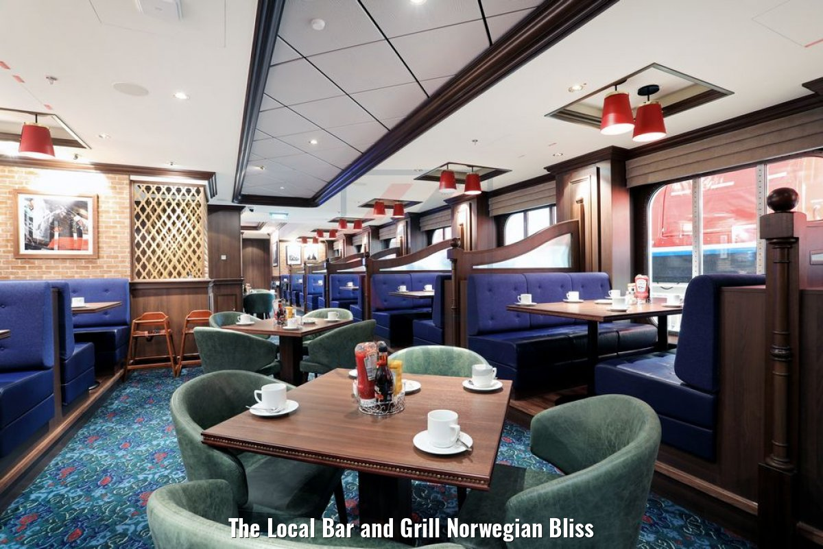 The Local Bar and Grill Norwegian Bliss