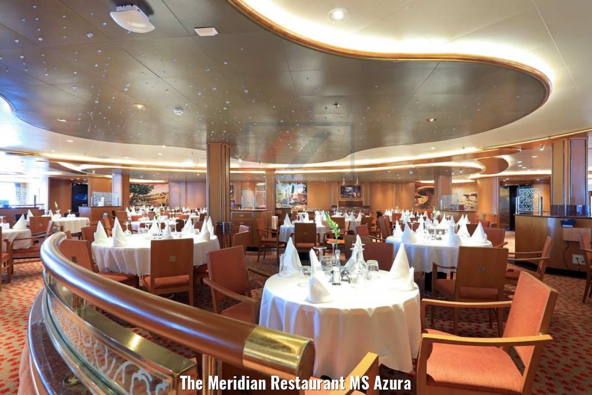 The Meridian Restaurant MS Azura