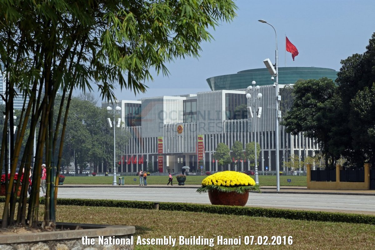 the National Assembly Building Hanoi 07.02.2016