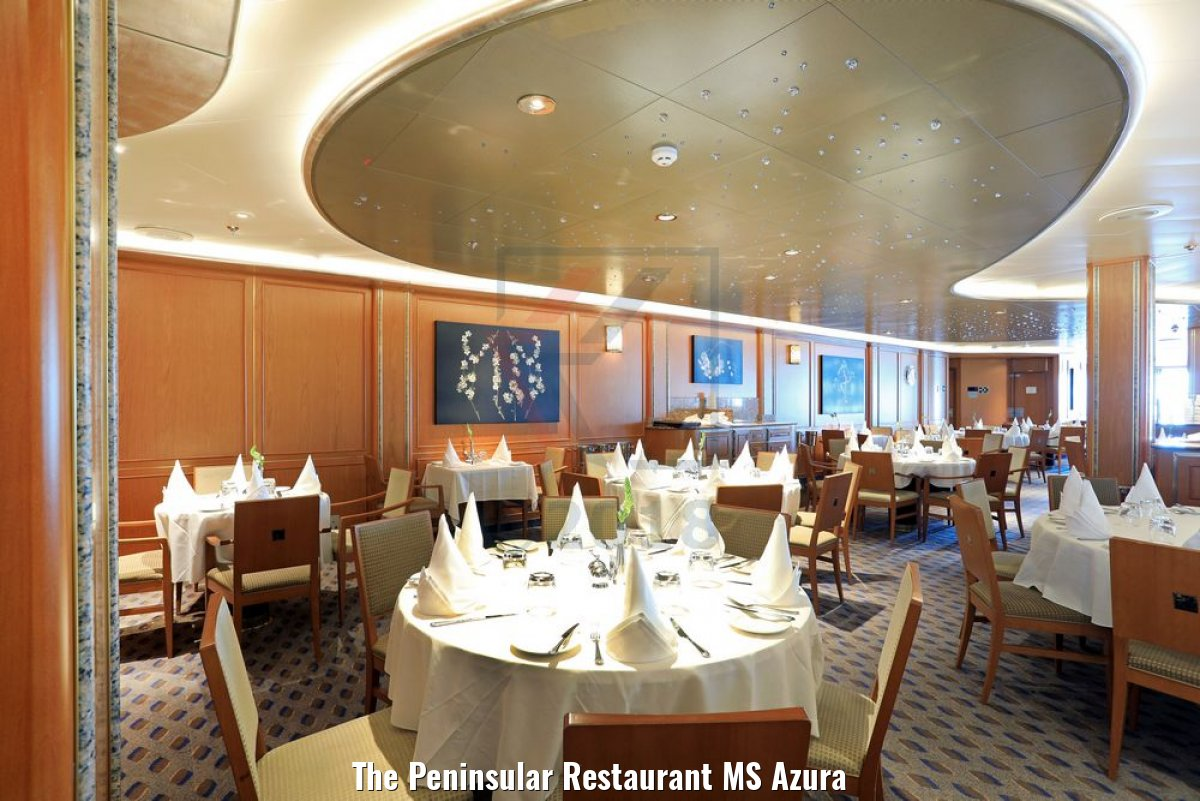 The Peninsular Restaurant MS Azura