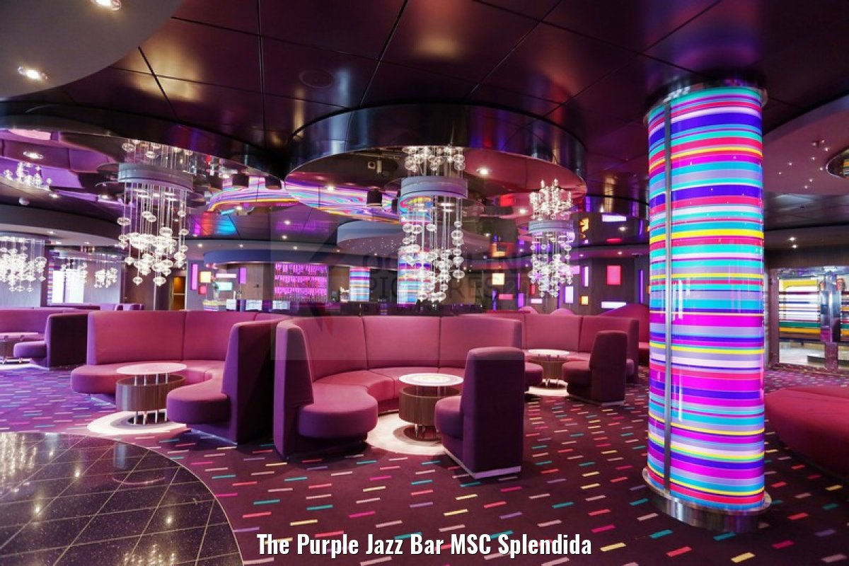 The Purple Jazz Bar MSC Splendida