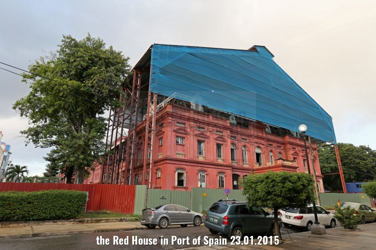 the Red House in Port of Spain 23.01.2015