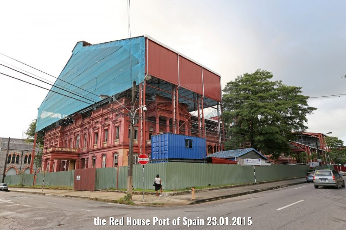 the Red House Port of Spain 23.01.2015