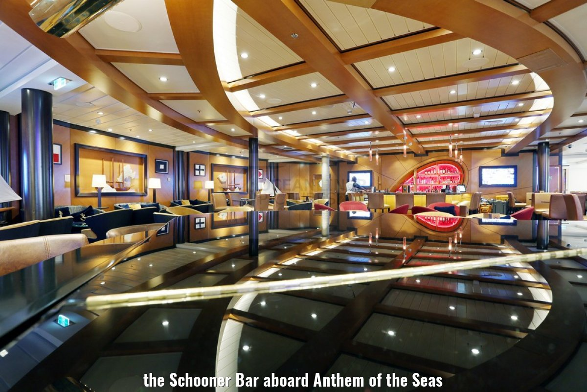 the Schooner Bar aboard Anthem of the Seas