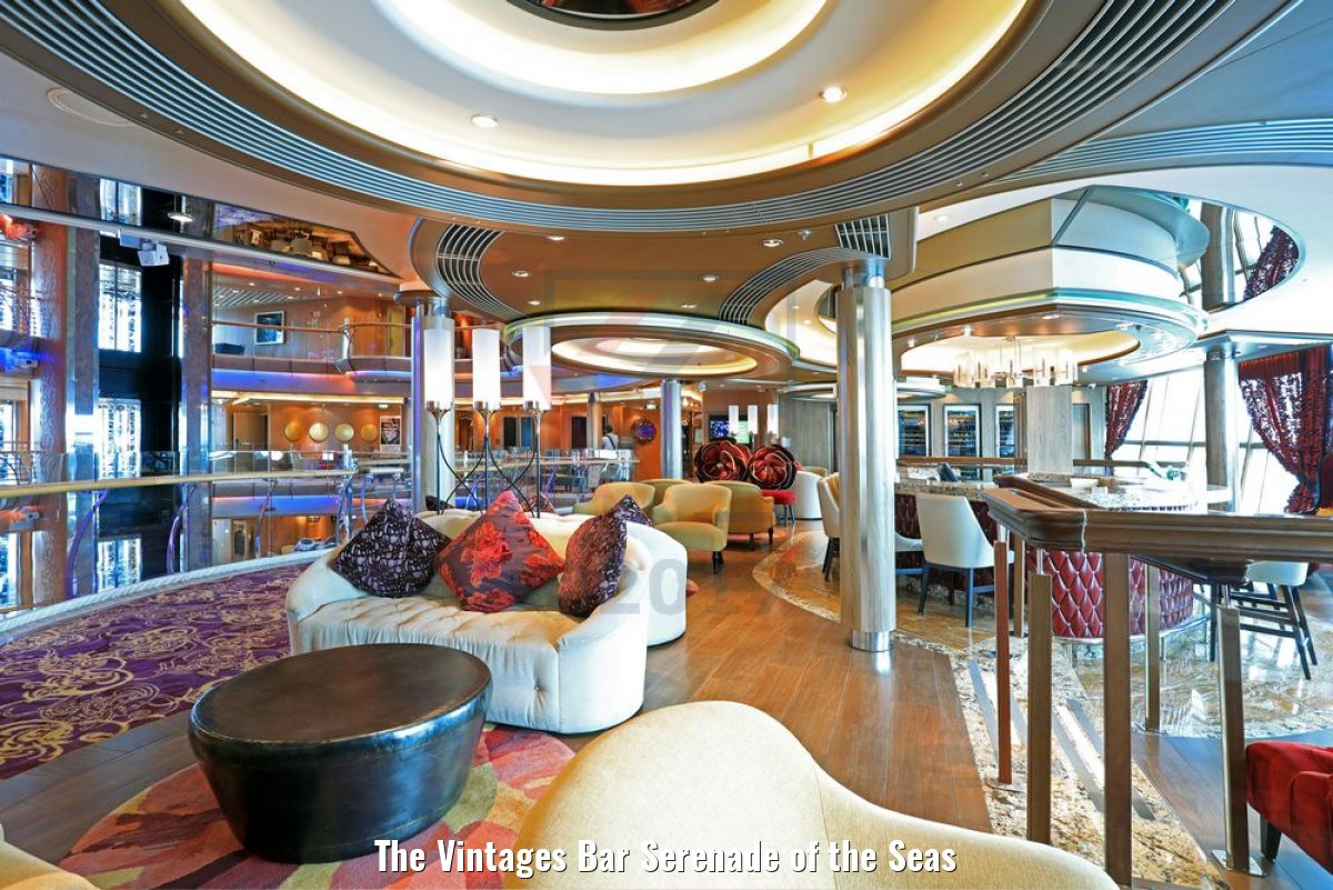 The Vintages Bar Serenade of the Seas