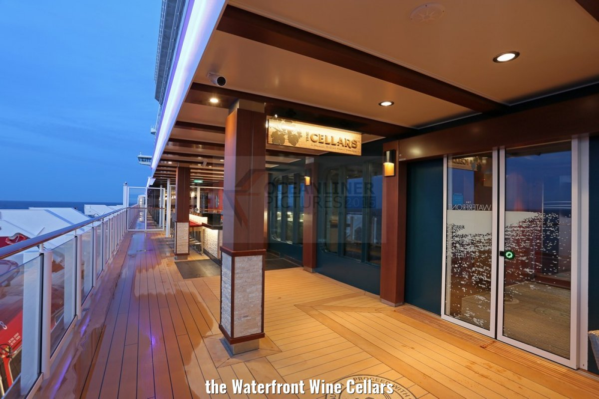 the Waterfront Wine Cellars