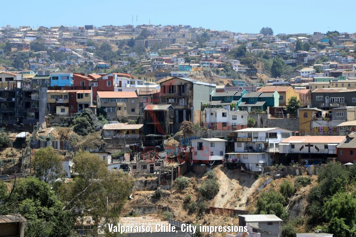 Valparaiso, Chile, City impressions