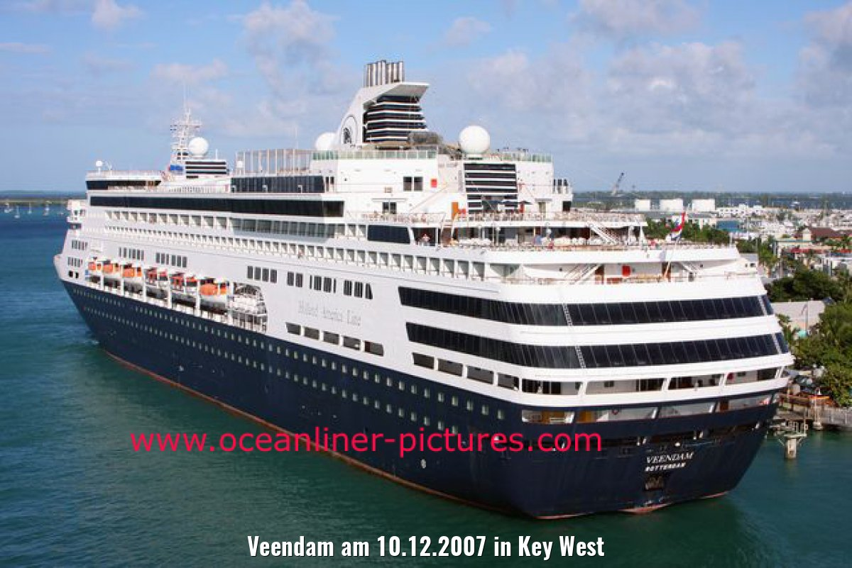 Veendam am 10.12.2007 in Key West