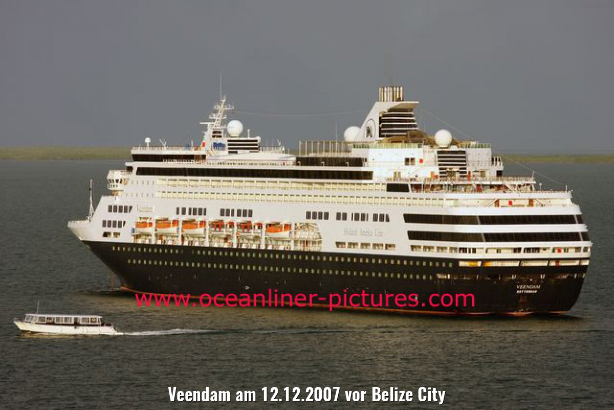 Veendam am 12.12.2007 vor Belize City
