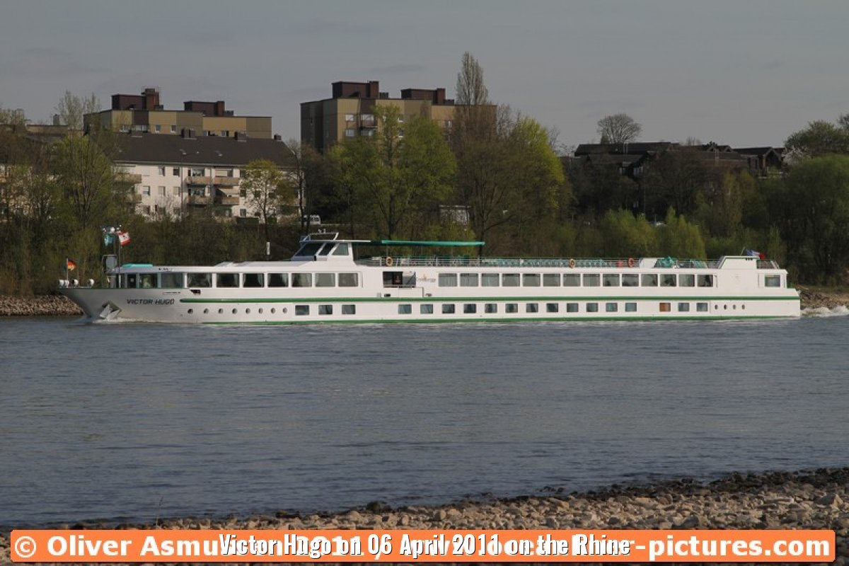 Victor Hugo on 06 April 2011 on the Rhine