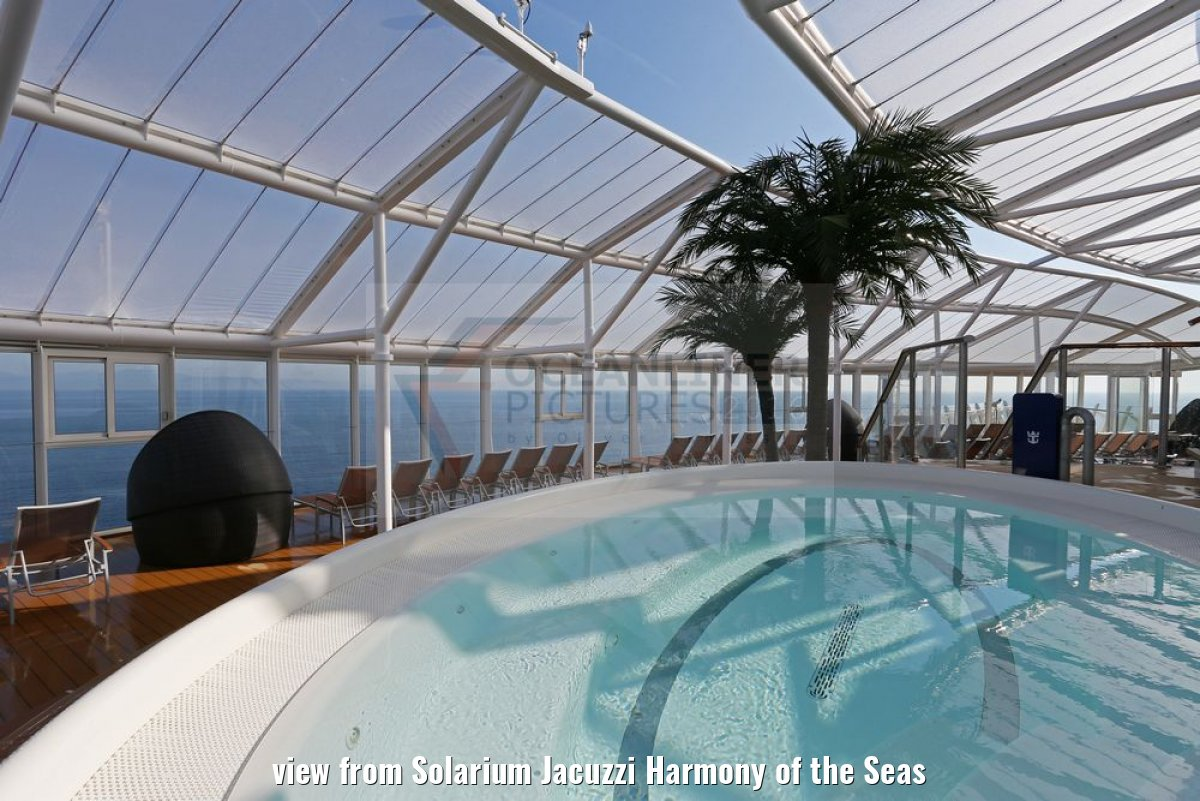 view from Solarium Jacuzzi Harmony of the Seas