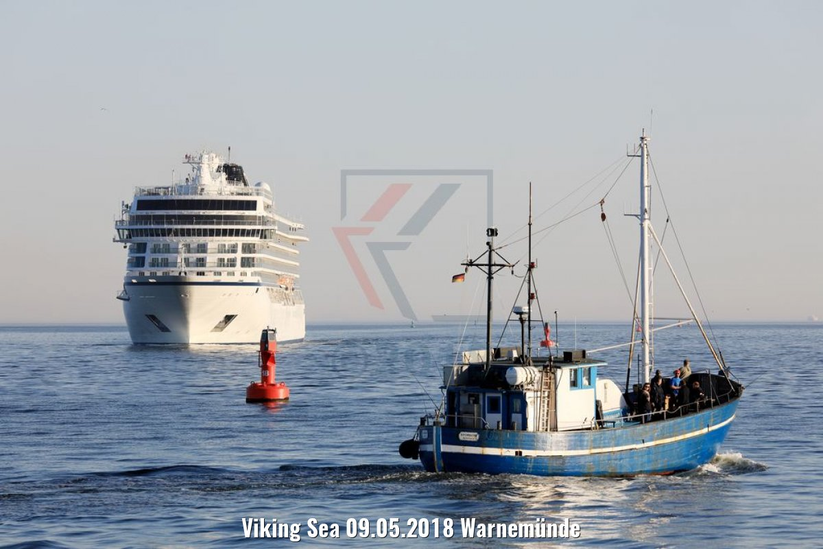 Viking Sea 09.05.2018 Warnemünde