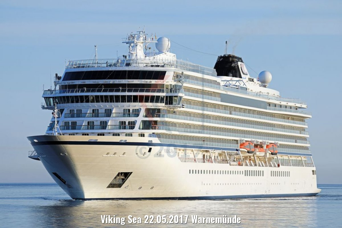 Viking Sea 22.05.2017 Warnemünde