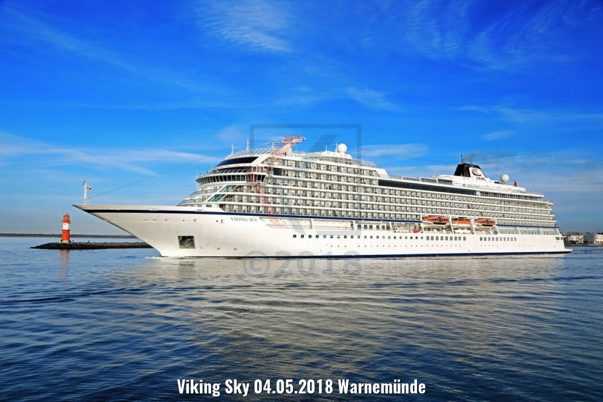 Viking Sky 04.05.2018 Warnemünde