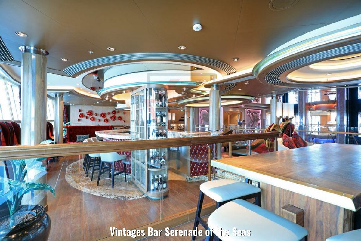 Vintages Bar Serenade of the Seas