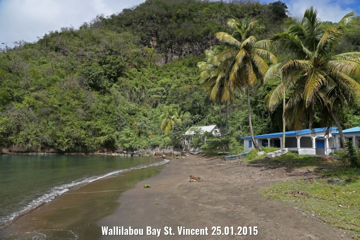 Wallilabou Bay St. Vincent 25.01.2015