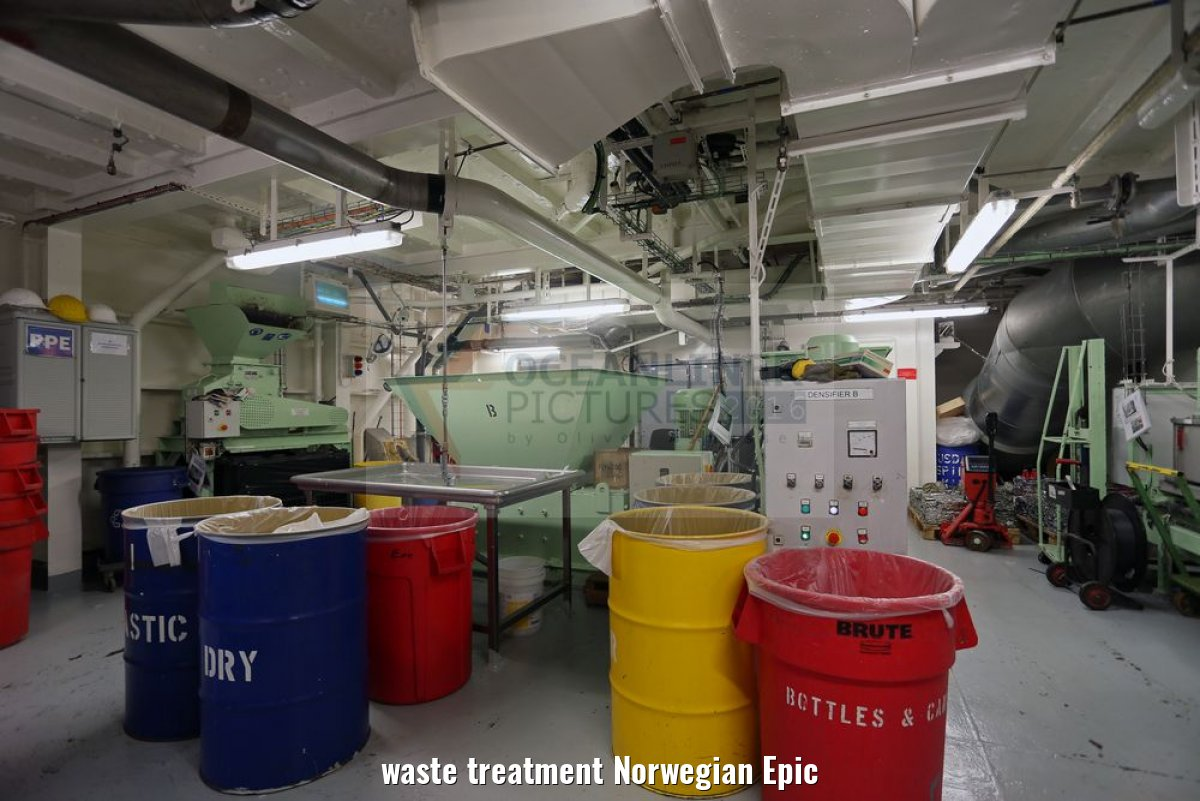 waste treatment Norwegian Epic