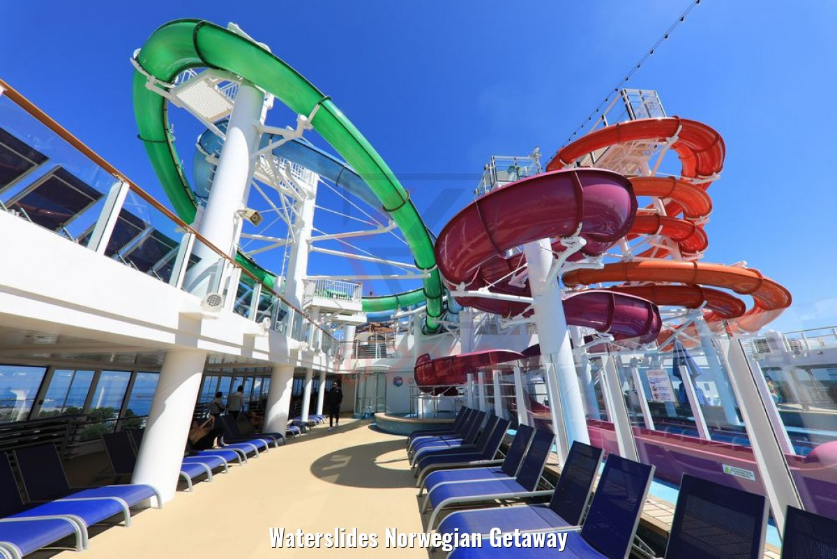 Waterslides Norwegian Getaway