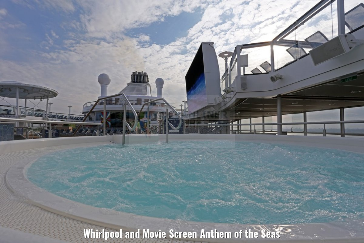 Whirlpool and Movie Screen Anthem of the Seas
