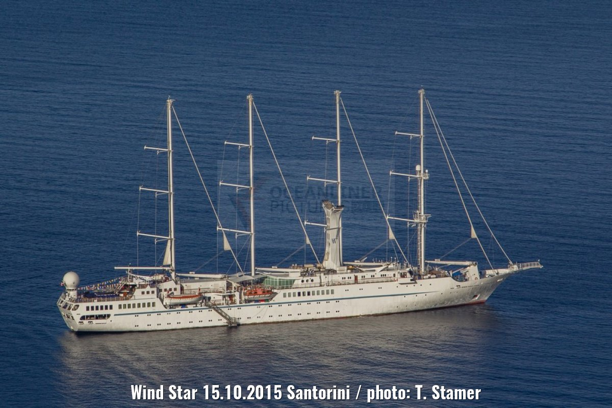 Wind Star 15.10.2015 Santorini / photo: T. Stamer