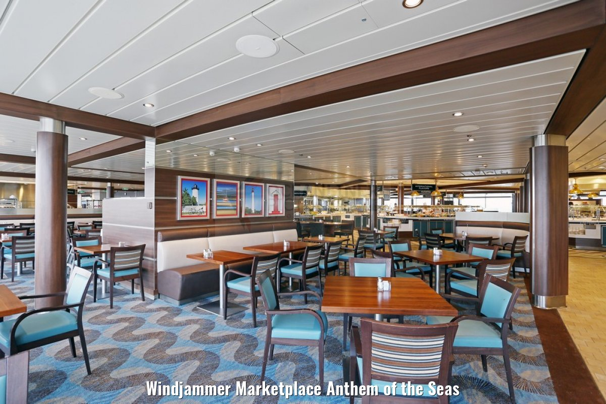 Windjammer Marketplace Anthem of the Seas