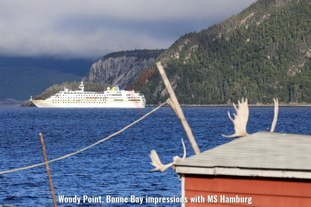 Woody Point, Bonne Bay impressions with MS Hamburg