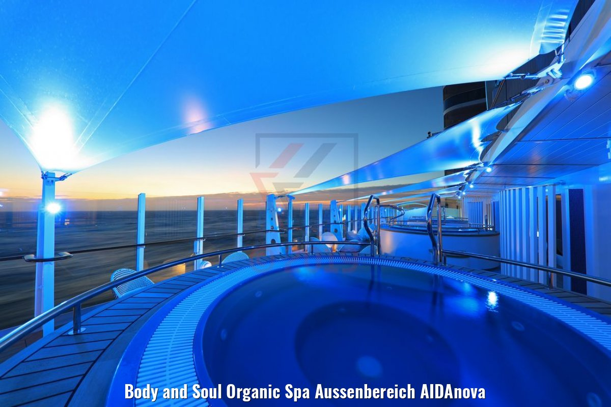 Body and Soul Organic Spa Aussenbereich AIDAnova