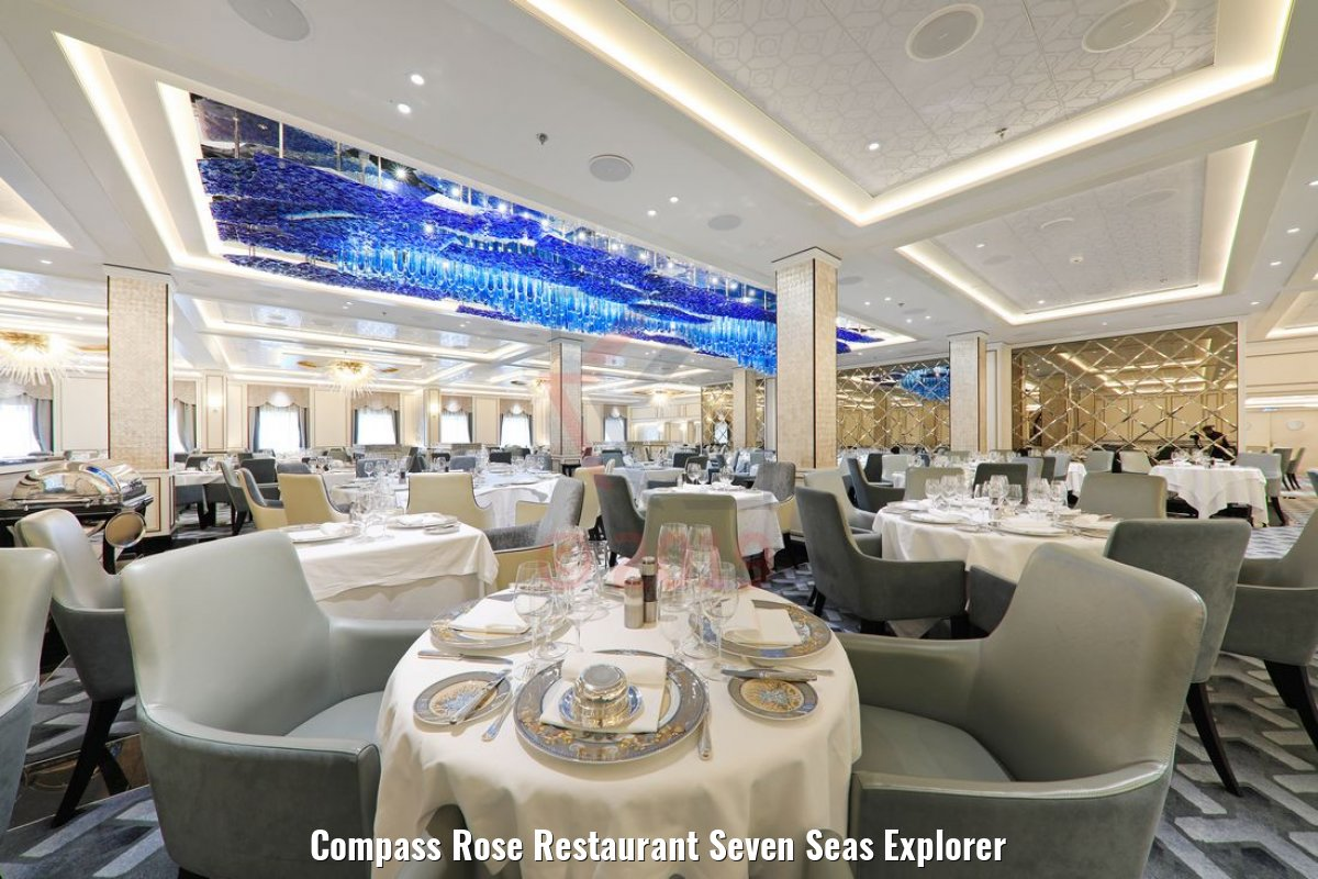 Compass Rose Restaurant Seven Seas Explorer