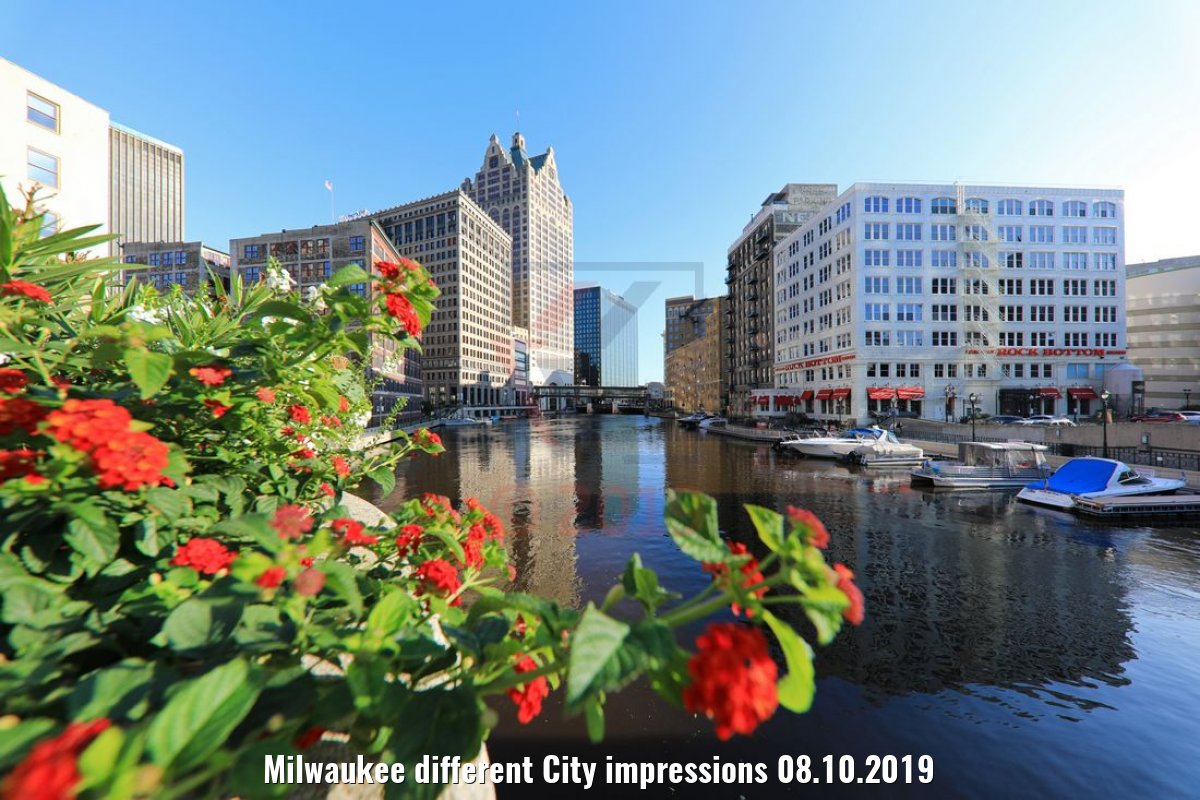 Milwaukee different City impressions 08.10.2019