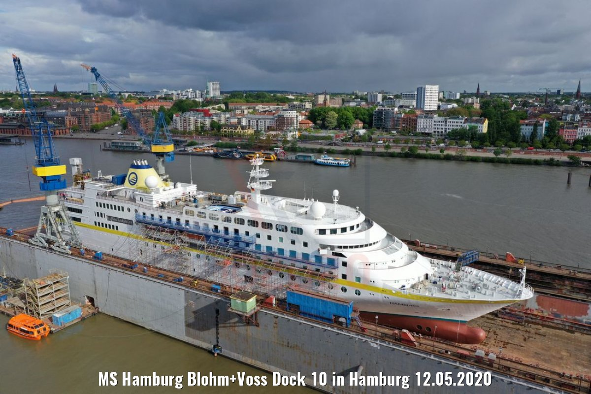 MS Hamburg Blohm+Voss Dock 10 in Hamburg 12.05.2020