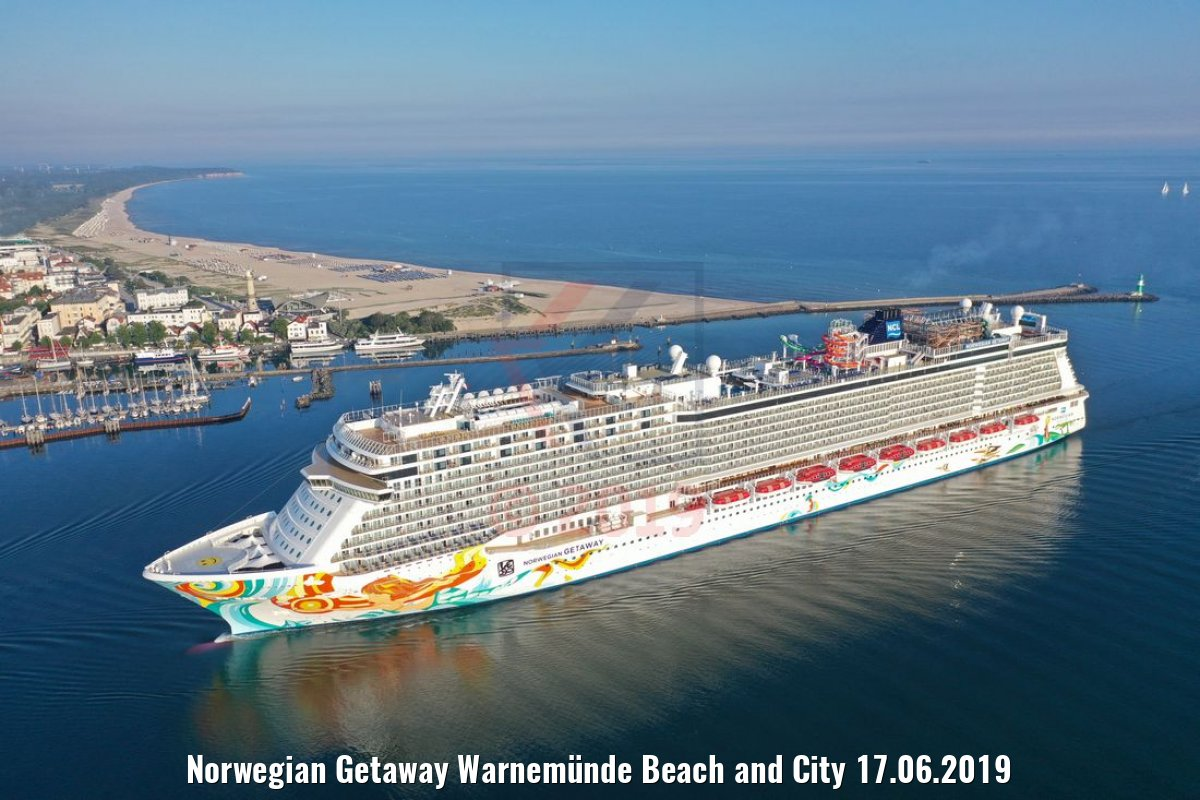 Norwegian Getaway Warnemünde Beach and City 17.06.2019