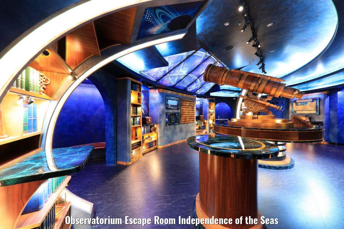 Observatorium Escape Room Independence of the Seas
