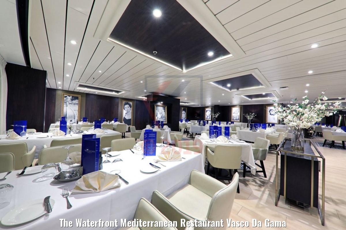 The Waterfront Mediterranean Restaurant Vasco Da Gama